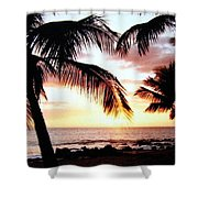 A Couple On The Shore Shower Curtain