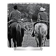 A Cowboys Life Shower Curtain