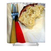 A Crust Of Bread Shower Curtain