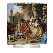 A Dance In The Country Shower Curtain