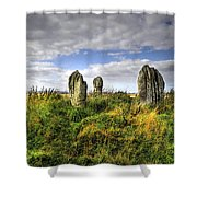 Song Of The Stones Shower Curtain