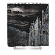 A Dark Strange Night  Shower Curtain