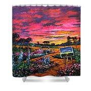A Darkness So Light Shower Curtain
