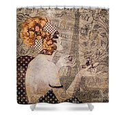 A Date With Paris II Shower Curtain