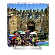 A Day At The  Bazaar Shower Curtain