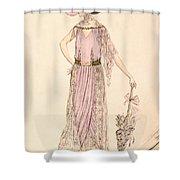 A Day Dress Shower Curtain