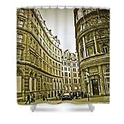 A Day In London Shower Curtain