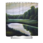A Day In The Life 3 Shower Curtain by James Christopher Hill