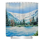 A Day In Tuckerman's Shower Curtain
