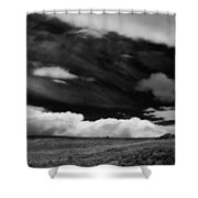 A Day Of Fury Shower Curtain
