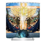 A Day Of Prayer For The Gulf Shower Curtain