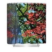 A Day Of Reflection Shower Curtain