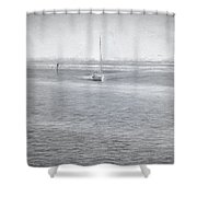 A Day On The Water Shower Curtain