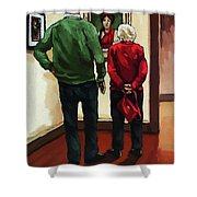 A Day With Mom Shower Curtain