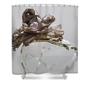 A Delicate Dance Shower Curtain