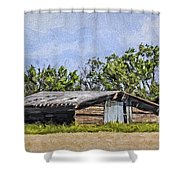 A Deserted Farm Shower Curtain