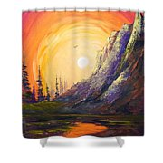 A Different Look Shower Curtain