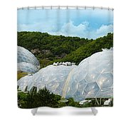 A Dome Away From Dome Shower Curtain