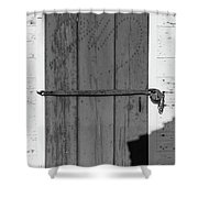 A Door With Character Shower Curtain