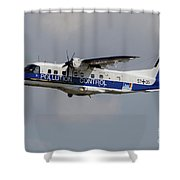 A Dornier Do 228ng Of The German Navy Shower Curtain