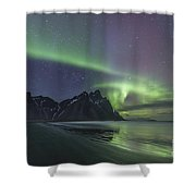 A Dream As Real As Darkness Shower Curtain
