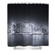 A Dream Of Manhattan Shower Curtain