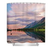 A Dreams Reflection Shower Curtain