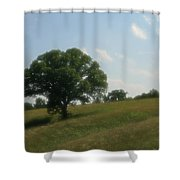 A Dreamy Day Shower Curtain