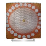 A Drop Of Life Mandala Shower Curtain