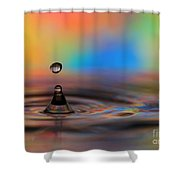 A Drop Shower Curtain