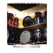 A Drummer's Dream Shower Curtain