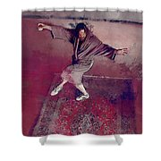 A Dude-like Zen - The Big Lebowksi Shower Curtain