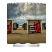 A Dutch Summer At The Beach Shower Curtain