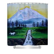 A Fairytale Shower Curtain