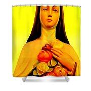 A Faithful Habit Shower Curtain