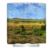 A Fall Day In The Sierras Shower Curtain
