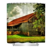 A Farm-picture Shower Curtain