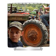 A Farmer's Son Shower Curtain