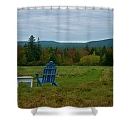 A Favorite Spot Shower Curtain