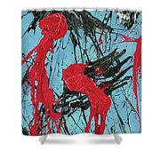 A Fear Of Vampires Shower Curtain