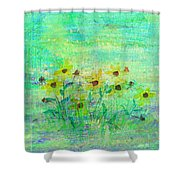 A Few Last Snacks Shower Curtain