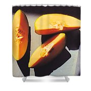 A Few Slices Shower Curtain