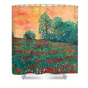 Field Of Beauty Shower Curtain