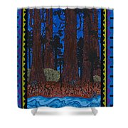 A Forest Whispers Shower Curtain