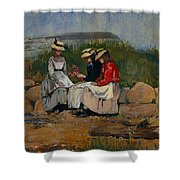 A Fisherman's Daughter Shower Curtain