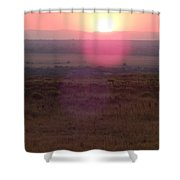 A Flare From South Africa Shower Curtain