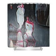 A Flase Rumor Shower Curtain