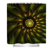 A Floral Feeling Shower Curtain