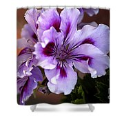 A Floral For Jalapeno Shower Curtain