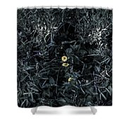 A Flower's Fight Shower Curtain